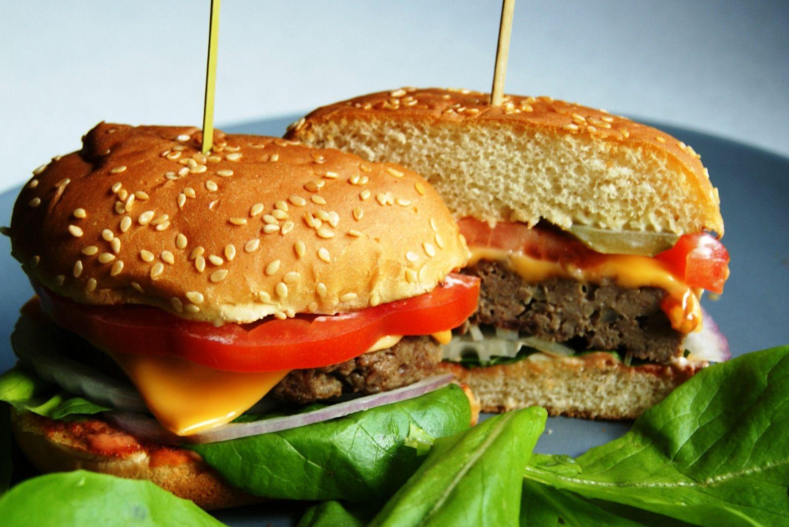 Рецепт гамбургера в домашних условиях с котлетой