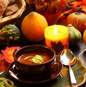Осень — время вкусной еды!