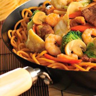 Блюда китайских ресторанов