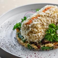 Блюда авторской кухни ресторана Фьюжн