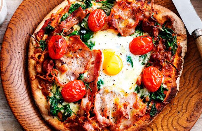Пицца «бычий глаз»