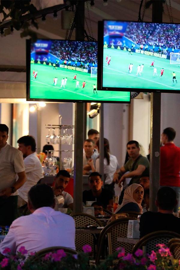 Смотрим футбол в ресторанах Краснодара