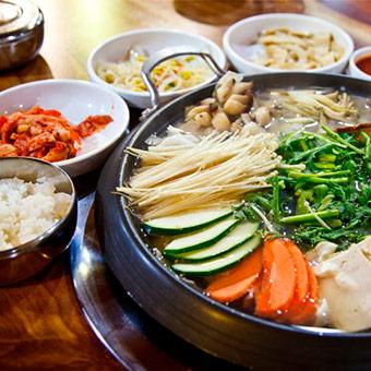 Корейская еда в Москве