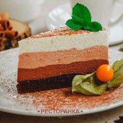 Десерты кафе «Ti Amo» в Анапе